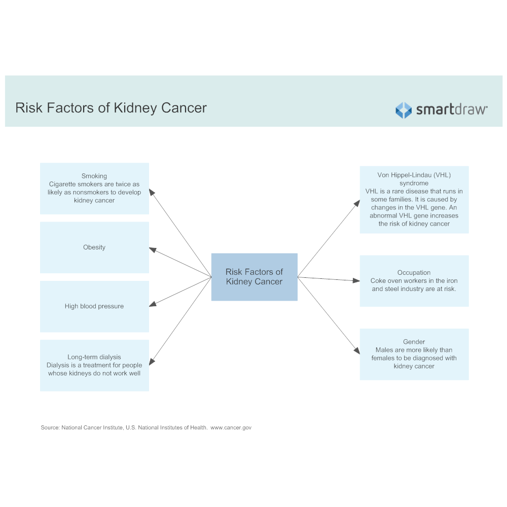 Example Image: Risk Factors of Kidney Cancer