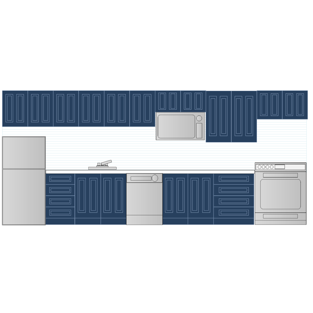 Example Image: Kitchen Elevation - 2