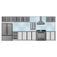 Kitchen Elevation - 3