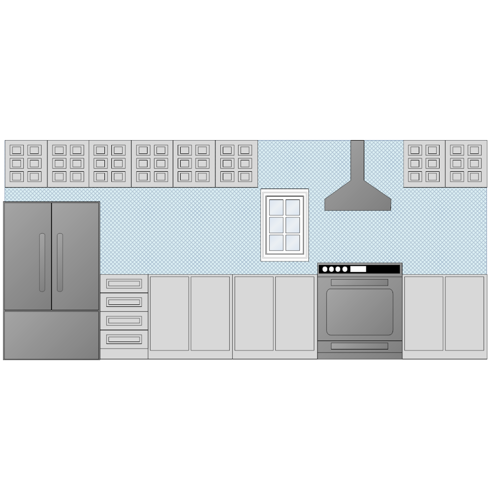 Example Image: Kitchen Elevation - 3