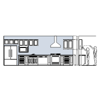 Kitchen Elevation Plan
