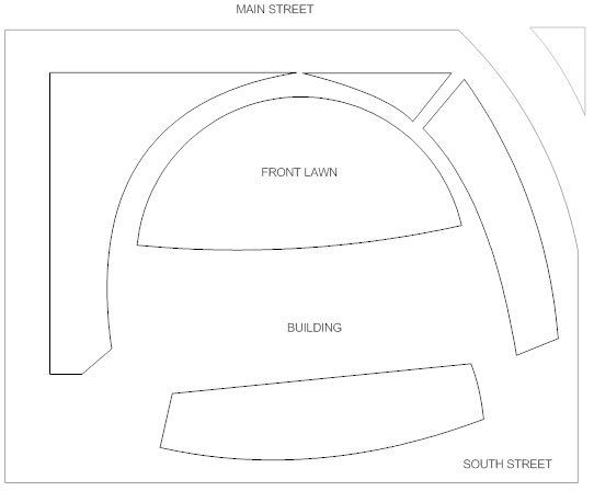 Landscape design template
