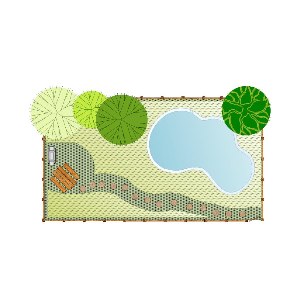 Example Image: Backyard Landscape