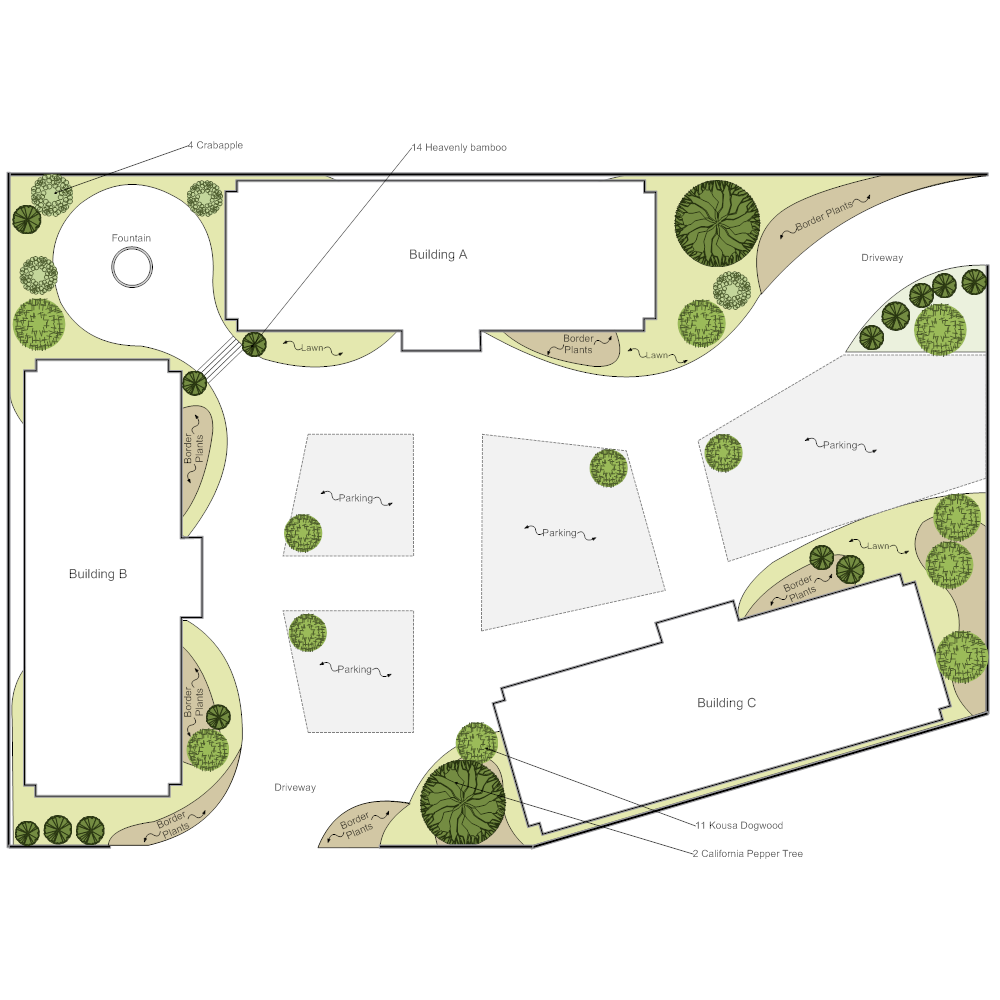 Example Image: Commercial Landscape Plan