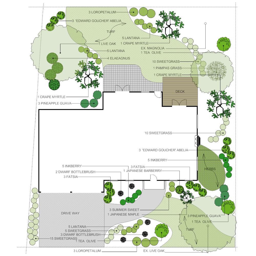 Example Image: Home Landscape Design