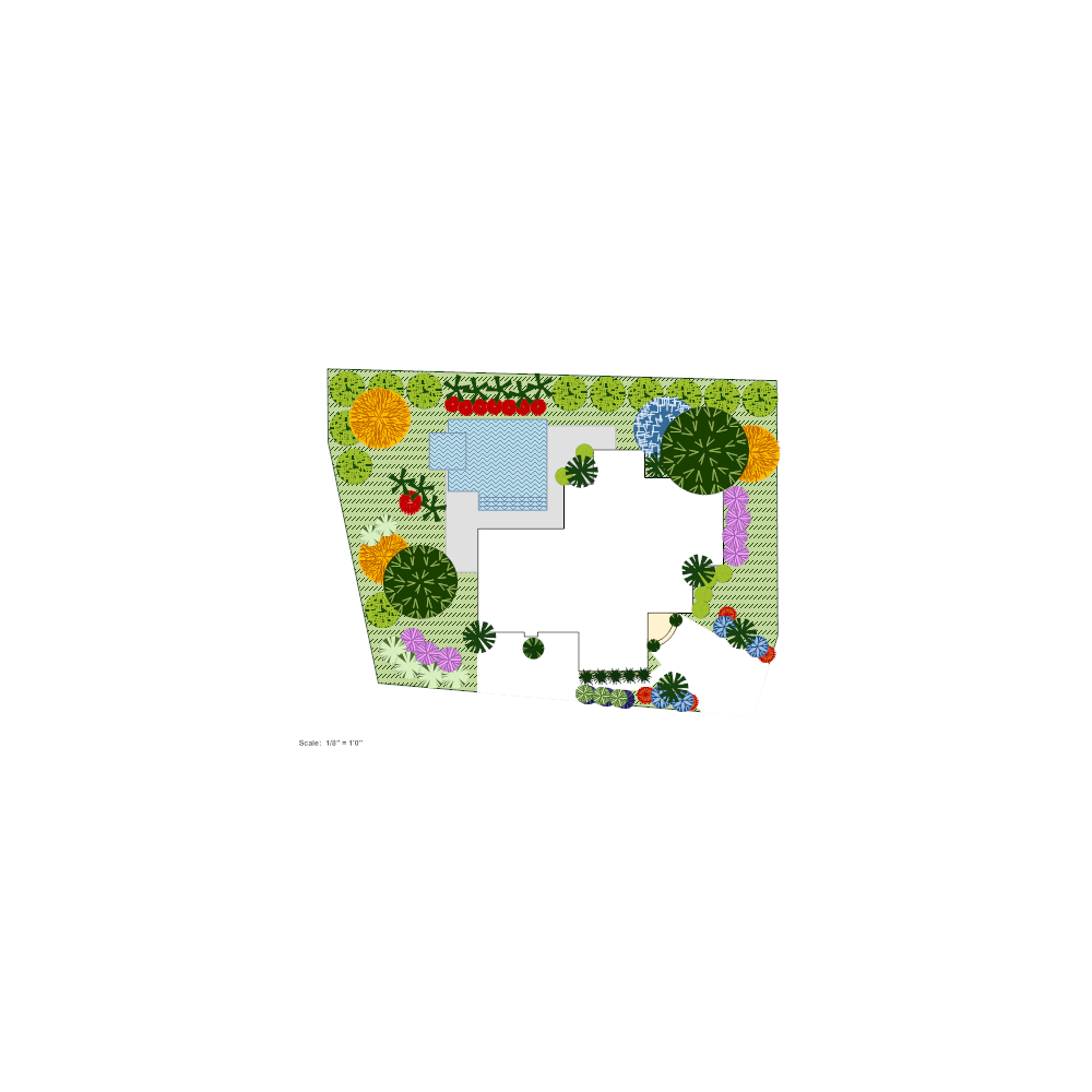 Example Image: Home Landscape