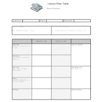 Lesson plan examples for Sports lesson plan template