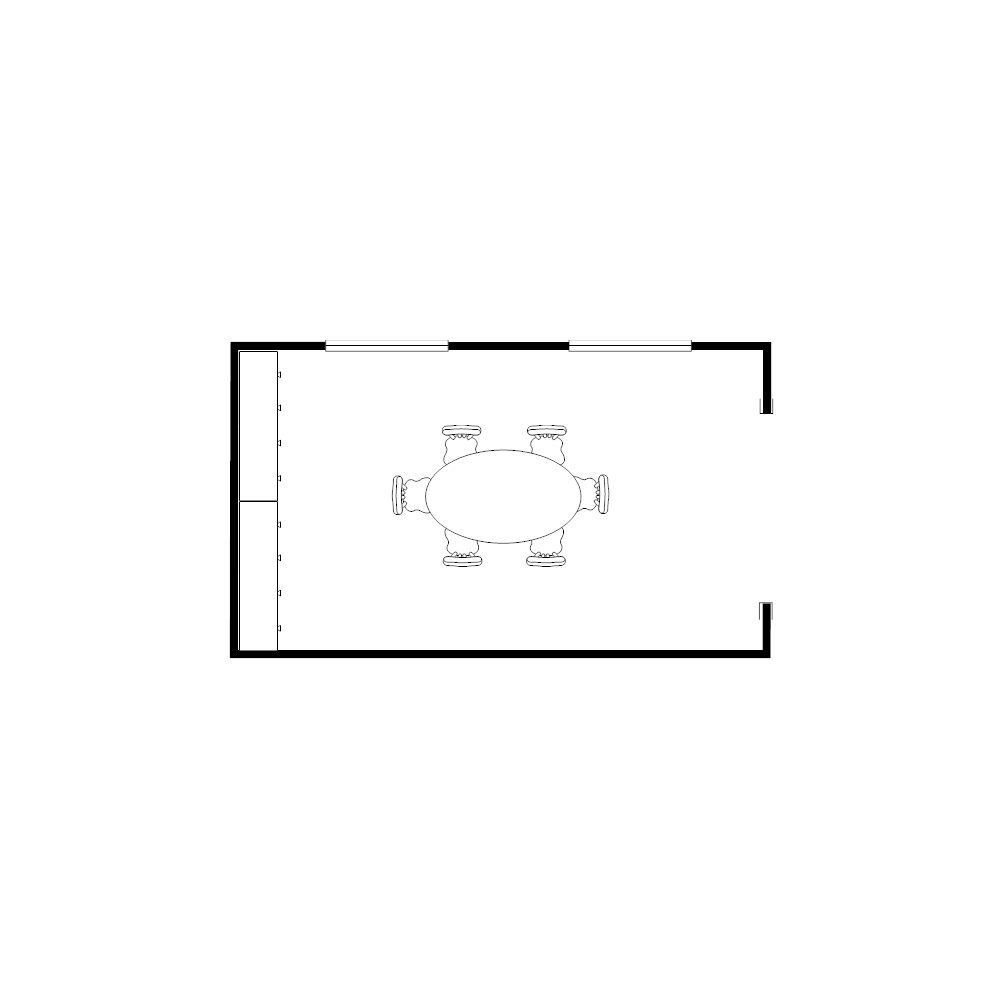 Example Image: Dining Room Plan