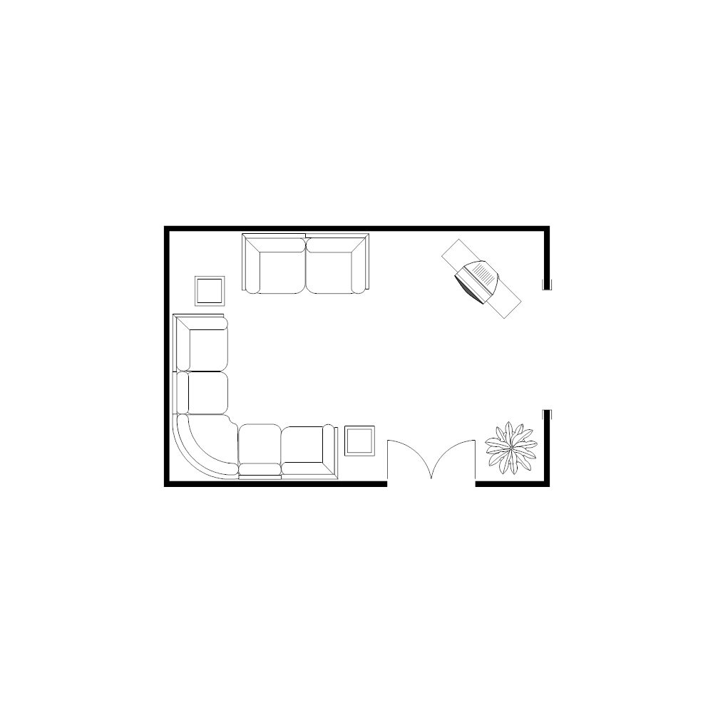 Example Image: Living Room Plan