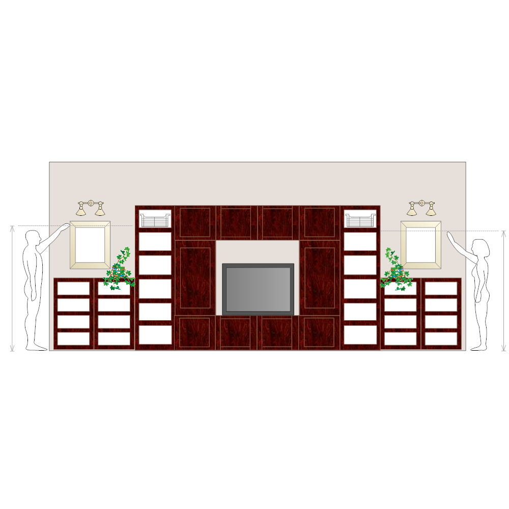 Example Image: entertainment unit_276