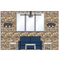 Living Room Elevation - 1