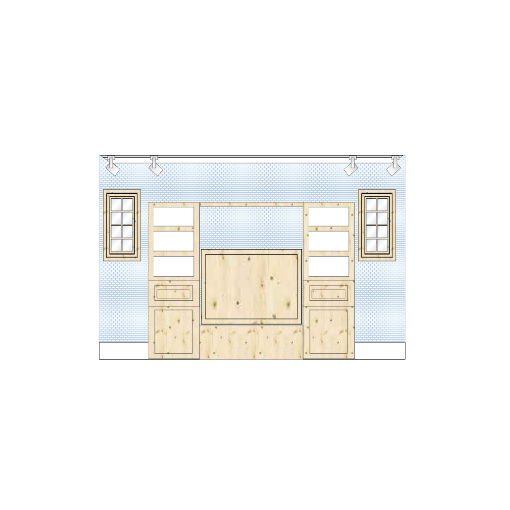Example Image: Living Room Elevation - 2