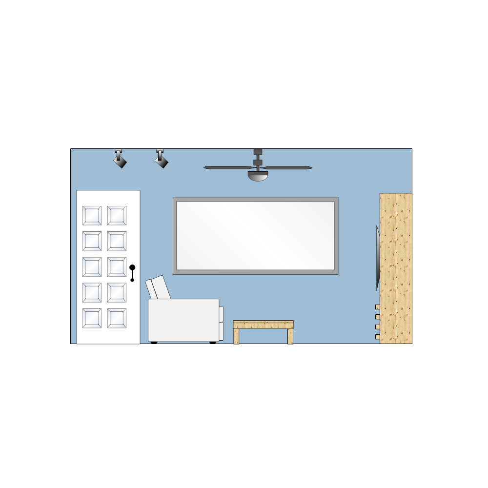 Example Image: Living Room Elevation - 3