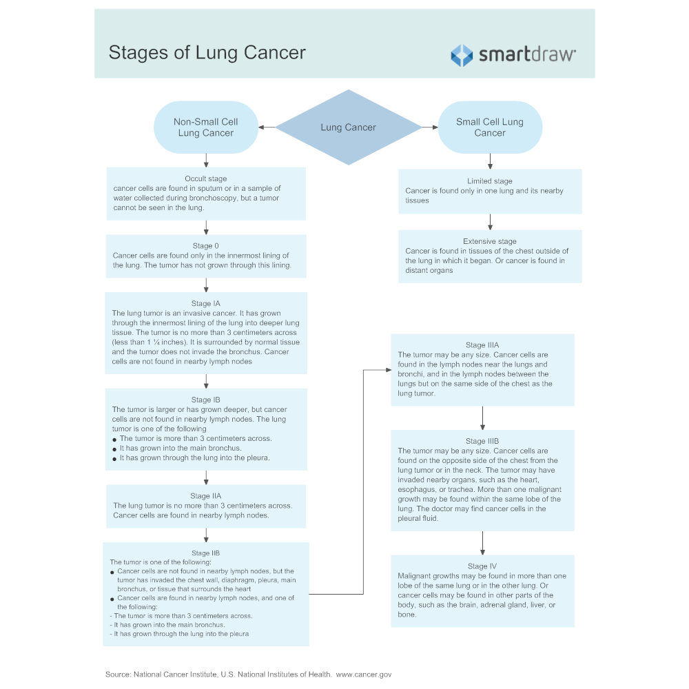 Example Image: Stages of Lung Cancer