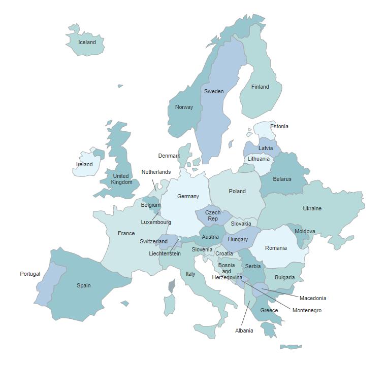 map templates
