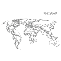 Airline Route Map