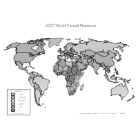 World Proved Reserves Map