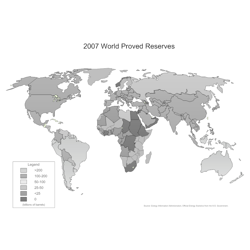 Example Image: World Proved Reserves Map