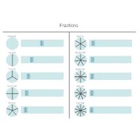 Fractions - Math Diagram