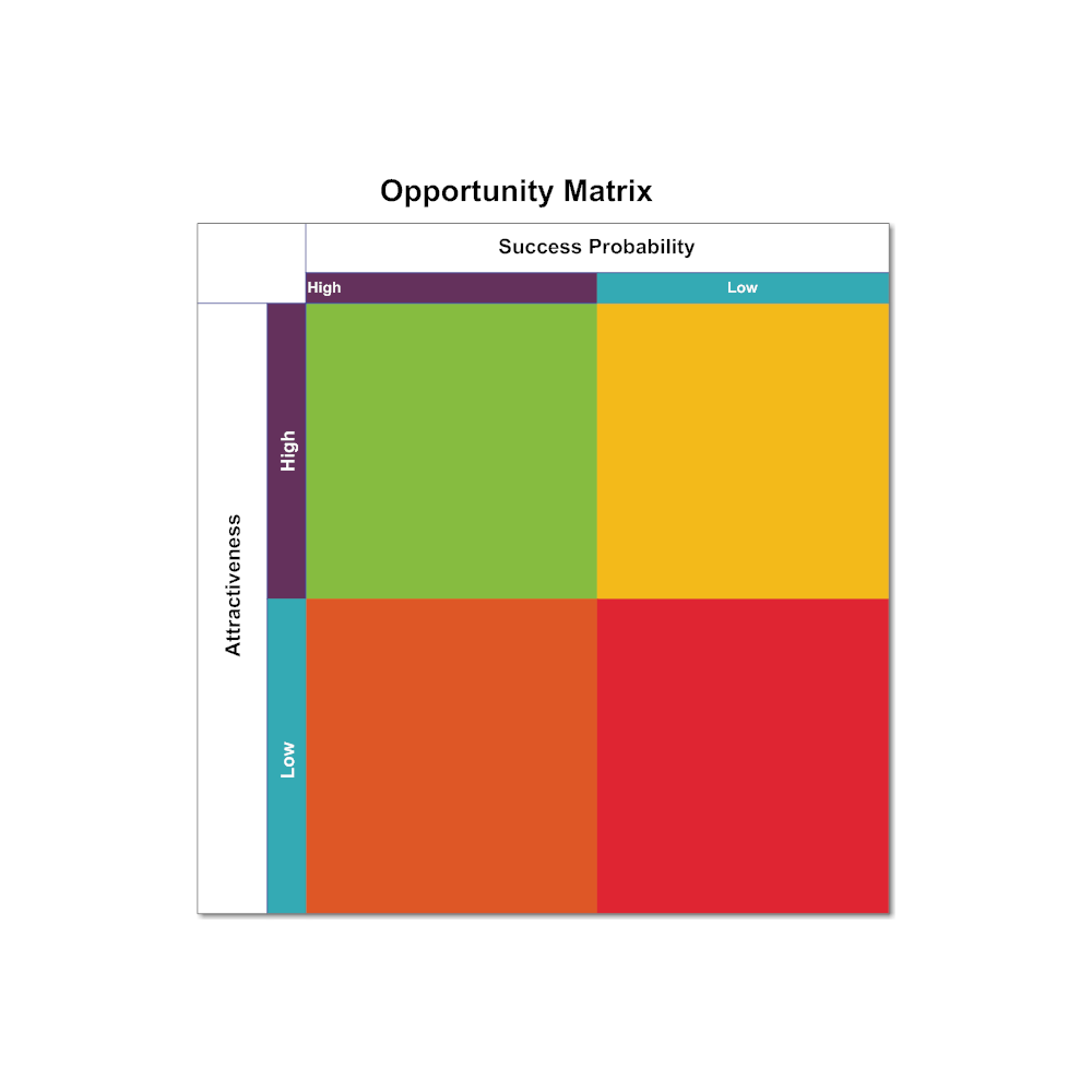 Example Image: Opportunity Matrix