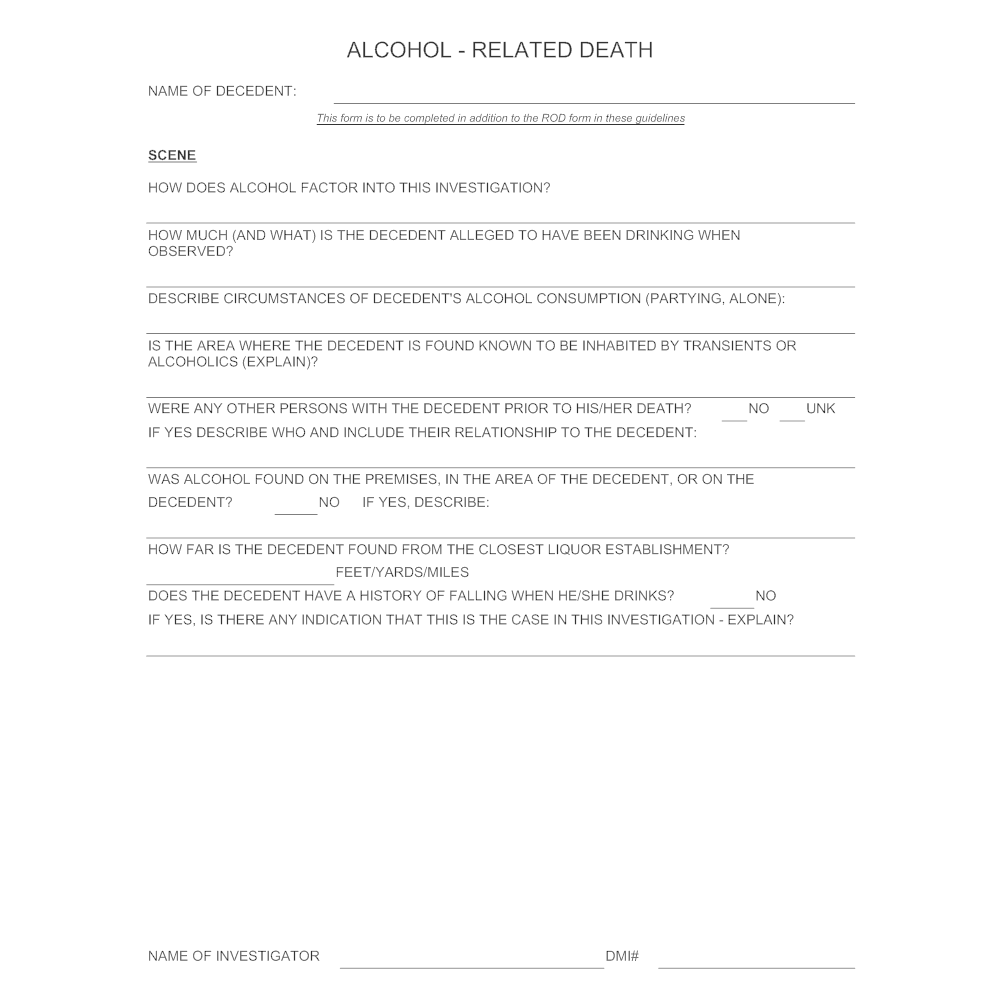 Example Image: Alcohol-Related Death