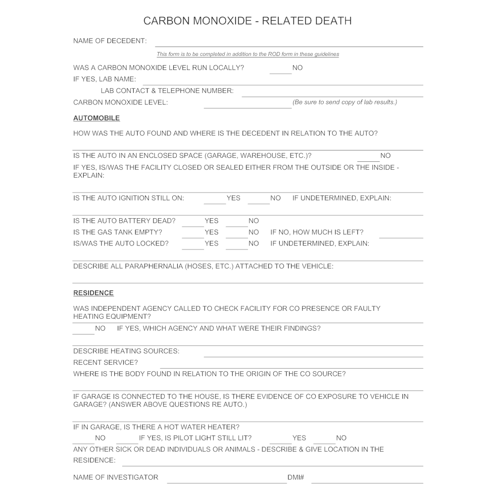 Example Image: Carbon Monoxide Poisoning