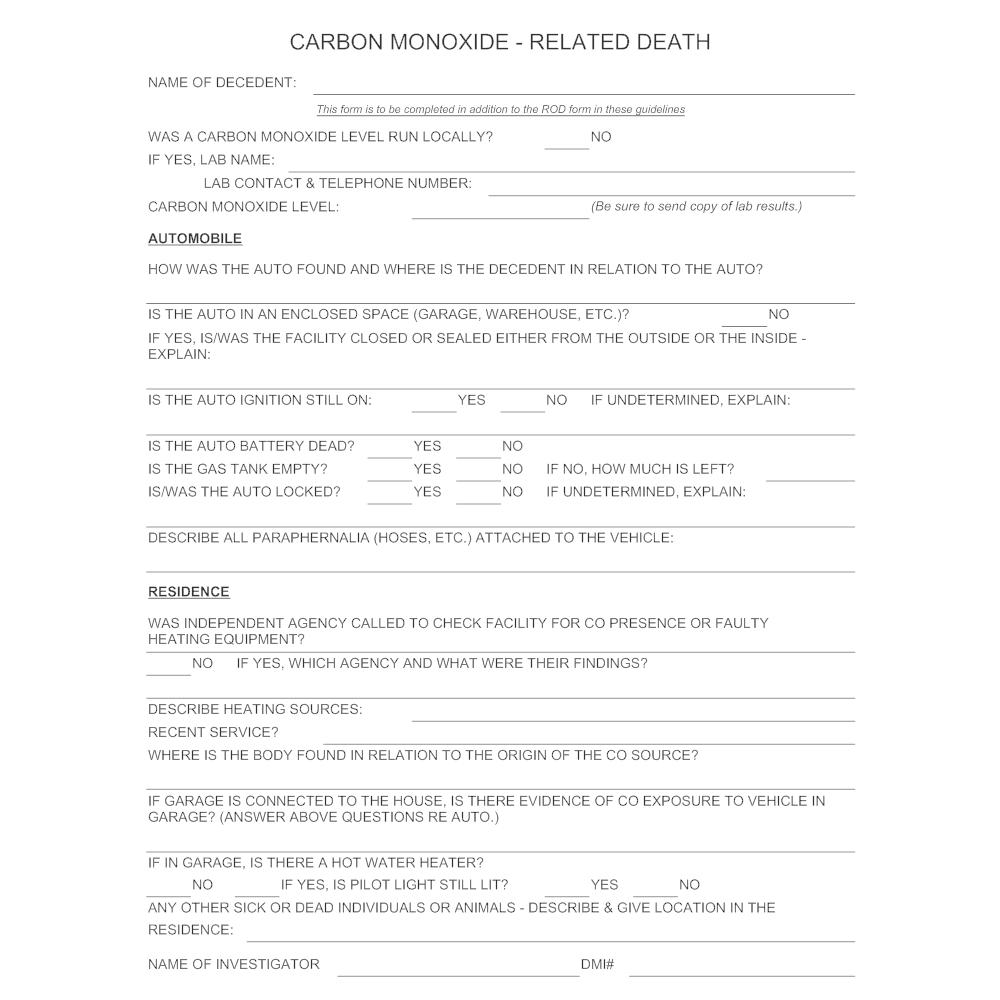 Example Image: Carbon Monoxide Poisoning