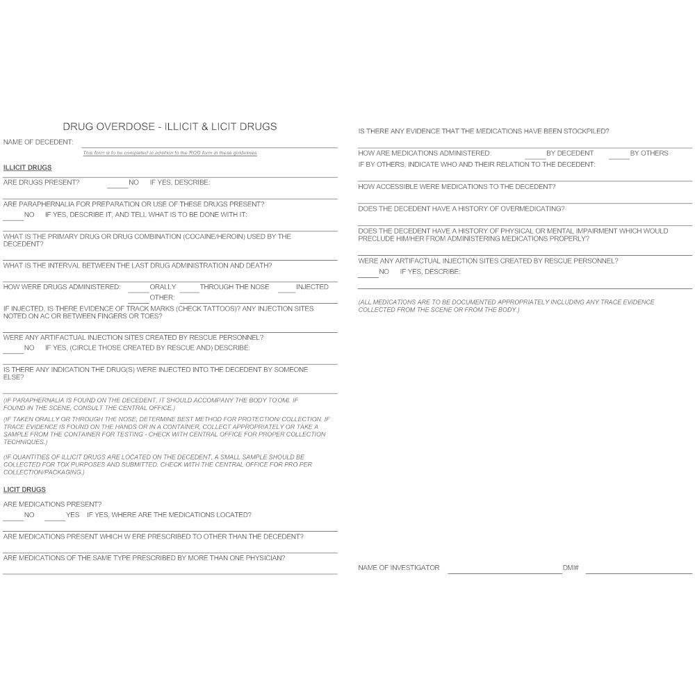Example Image: Medical Examination - Drug Overdose