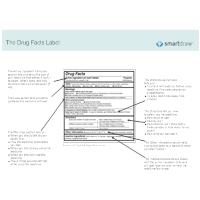 Drug Facts Label