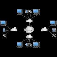 Cloud Computing Network Diagram