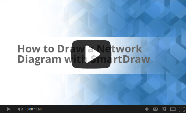 How to draw network diagram