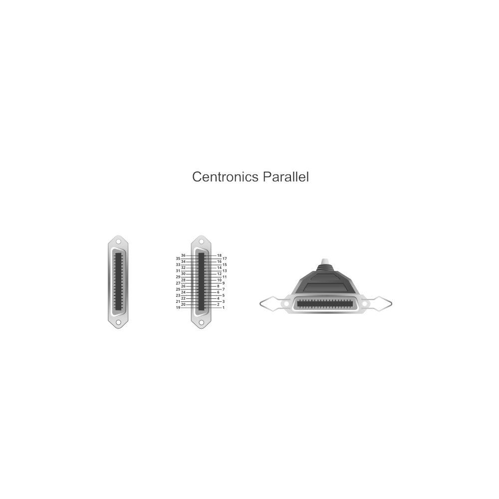 Example Image: Centronics Parallel
