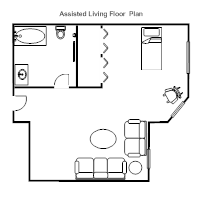 Assisted Living Floor Plan