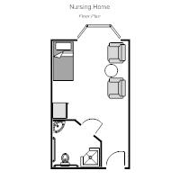 Nursing Home Room Floor Plan