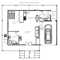 wheelchair accessible floor plan - Floor Plan Examples For Homes
