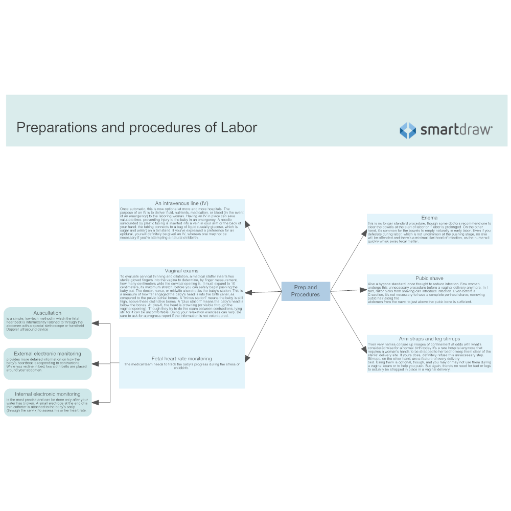Example Image: Preparations and Procedures of Labor