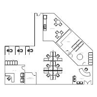 Cubicle Floor Plan  Office Seating Plan Template