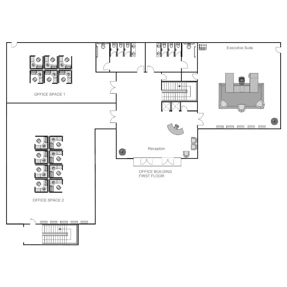 Example Image: Cubicle Layout