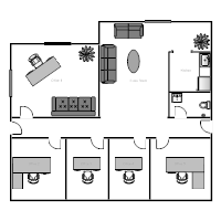 Beautiful Office Building Floor Plan