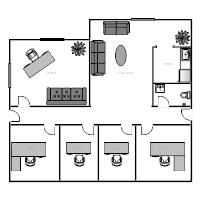 Beautiful Office Building Floor Plan