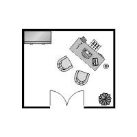 Office Floor Plan 11x13