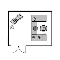 Office Plan 14x11