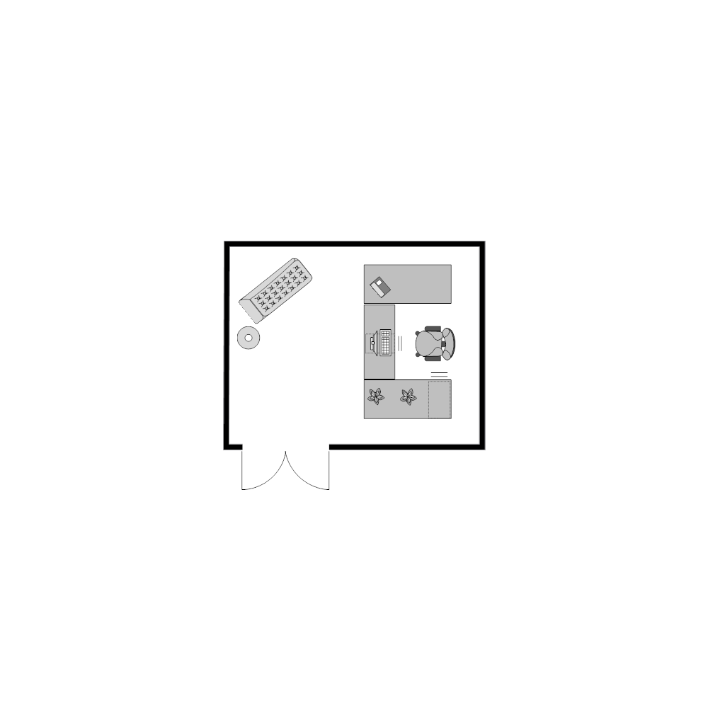 Example Image: Office Plan 14x11