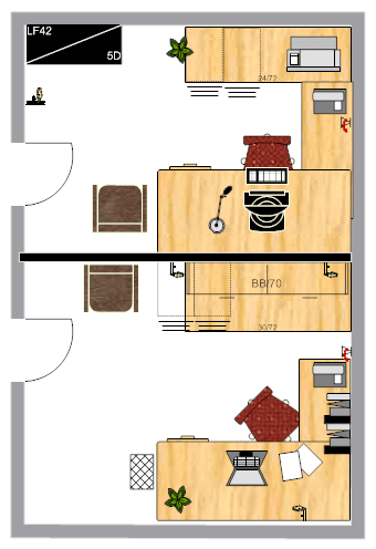 Office design example