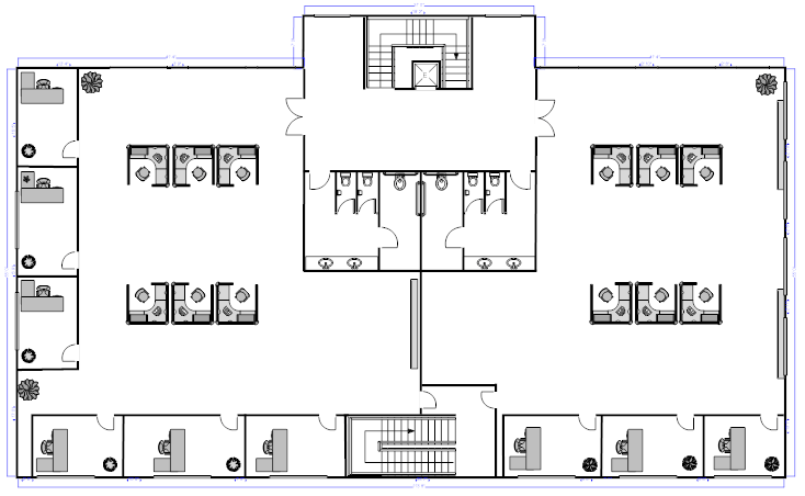 Office layout planner