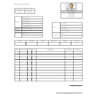 Purchase Order Form 2