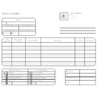 High Quality Return To Vendor Form Intended Order Form Templates