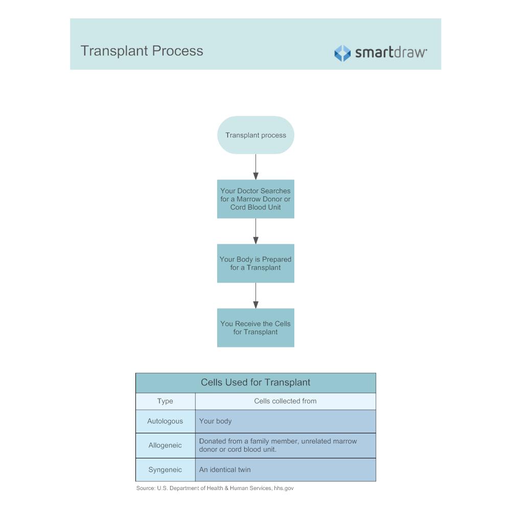 Example Image: Transplant Process