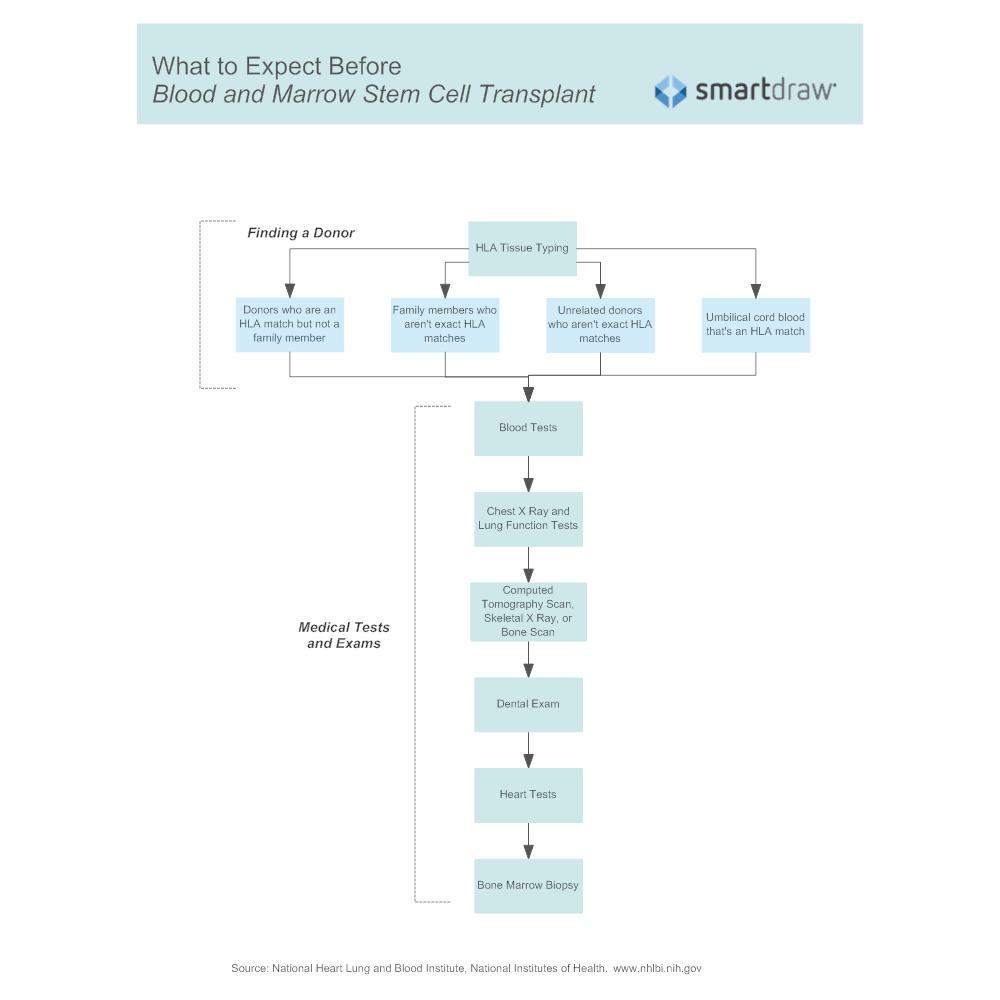Example Image: What to Expect Before a Blood and Marrow Stem Cell Transplant