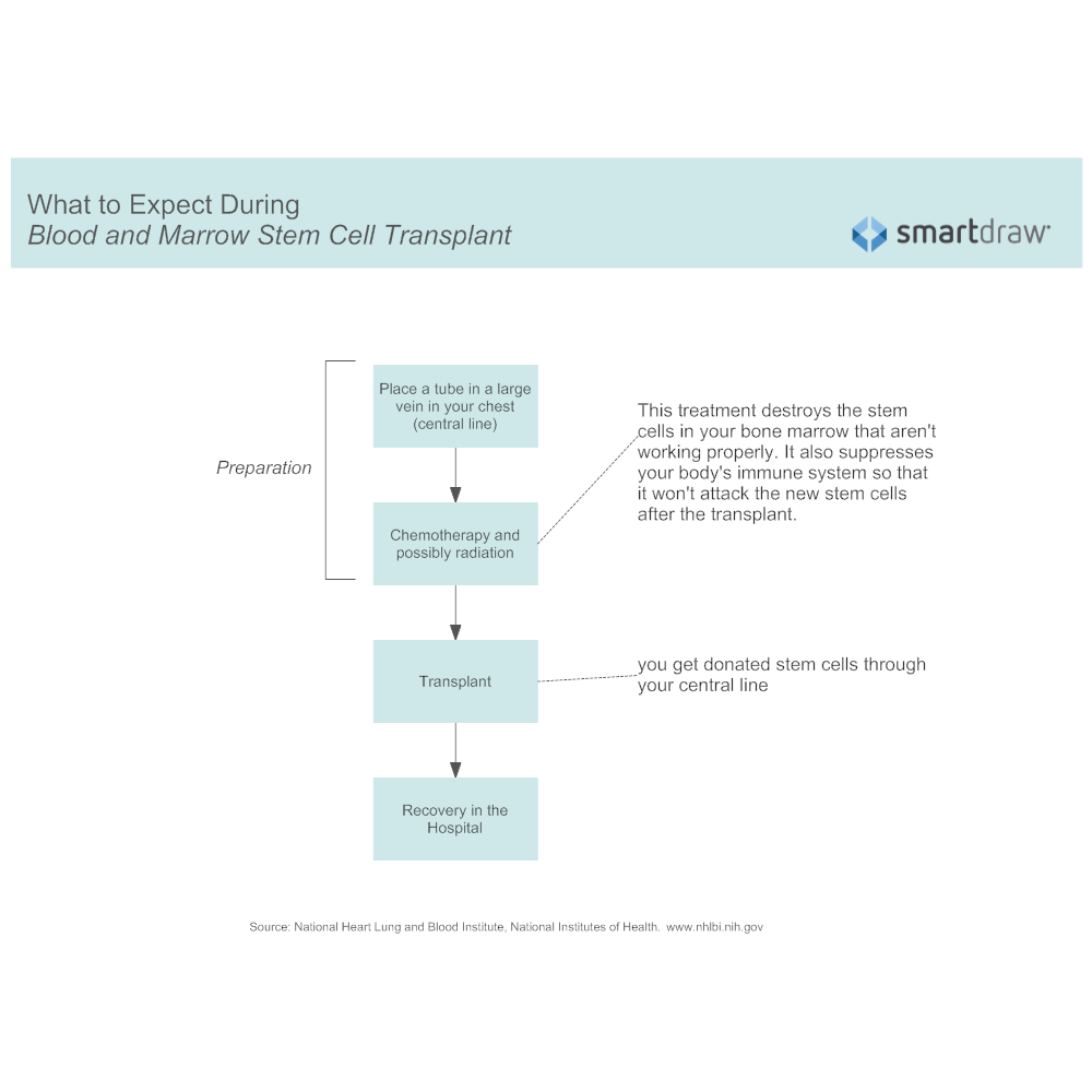 Example Image: What to Expect During a Blood and Marrow Stem Cell Transplant